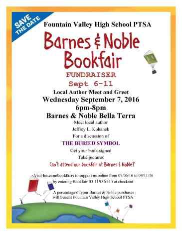 2016 B&N Bookfair Flyer